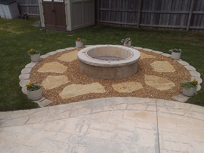 Ordinaire If You Are Building A New Patio, A Fire Pit Adds Even More Quality Of Life  To Your Outdoor Living Space. Plus, Having A Fire Pit Completed At The Same  Time ...