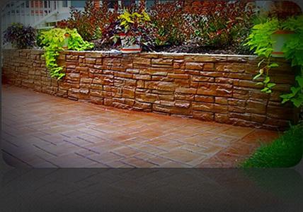 Decorative concrete block retaining wall images - Decorating concrete walls ...
