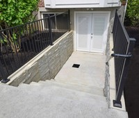 Outside Basement Entries Gallery